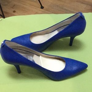 Michael Koors Blue Shoes